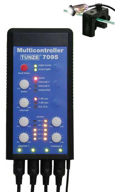 TUNZE WAVE MAKER MULTICONTROLLER 7095 P/4 OU 8 BOMBAS ELETRONICAS
